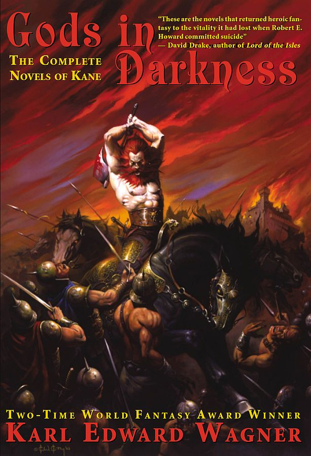 Gods in Darkness: The Complete Novels of Kane