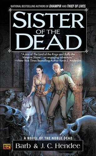 Sister of the Dead (The Noble Dead, #3)