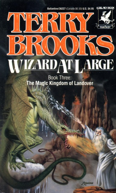 Wizard at Large (The Magic Kingdom of Landover, #3)