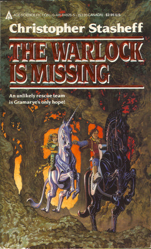 The Warlock Is Missing (Warlock of Gramarye, #6)