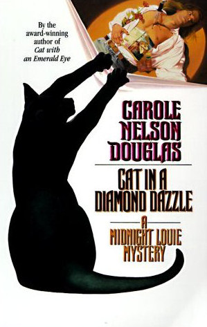 Cat in a Diamond Dazzle (Midnight Louie Mysteries, #5)
