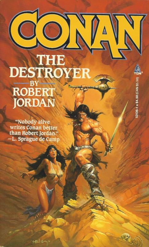 Conan the Destroyer (The Conan Chronicles, #6)