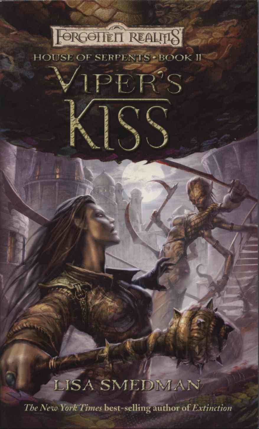 Viper's Kiss (Forgotten Realms: House of Serpents, #2) by