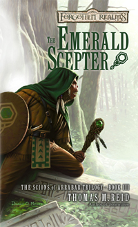 The Emerald Scepter (Forgotten Realms: The Scions of Arrabar Trilogy, #3)