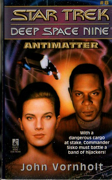 Antimatter (Star Trek: Deep Space Nine, #8)