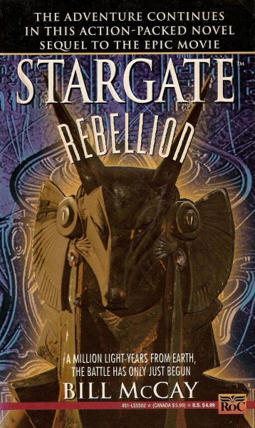 Rebellion (Stargate, #1)