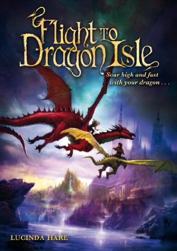 Flight to Dragon Isle (Dragonsdome Chronicles, #2)
