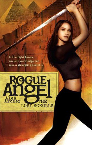 The Lost Scrolls (Rogue Angel, #6)