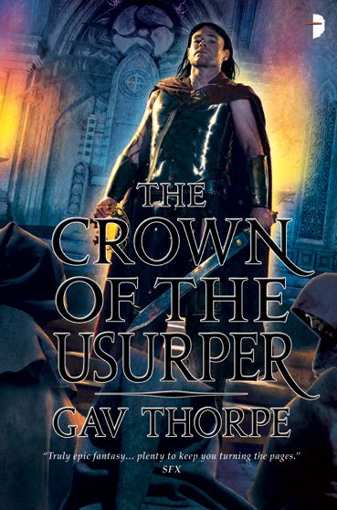 The Crown of the Usurper (The Empire of the Blood Trilogy, #3)