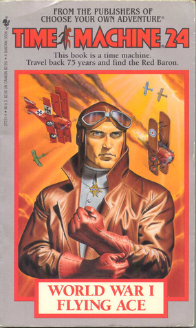 World War I Flying Ace (Time Machine, #24)