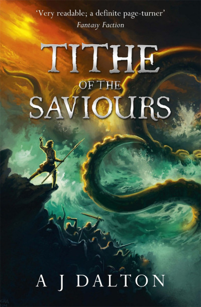 Tithe of the Saviours (Chronicles of a Cosmic Warlord, #3)