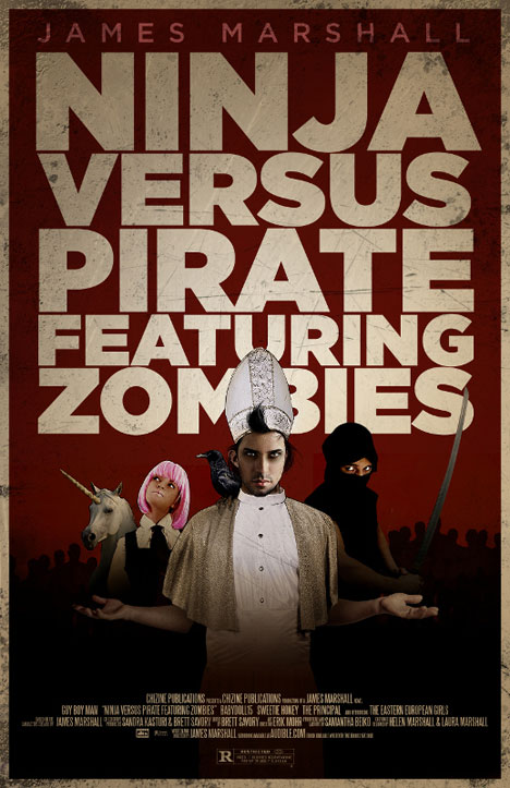 Ninja Versus Pirate Featuring Zombies (How to End Human Suffering, #1)