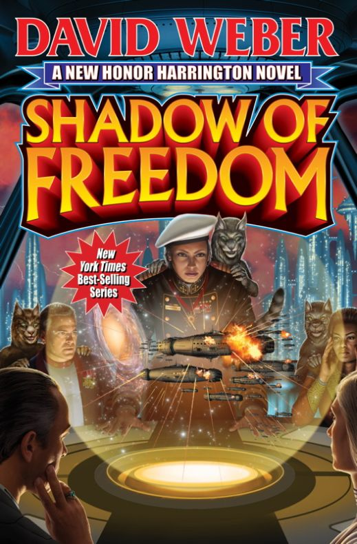 Shadow of Freedom (Saganami Island (Honorverse), #3)