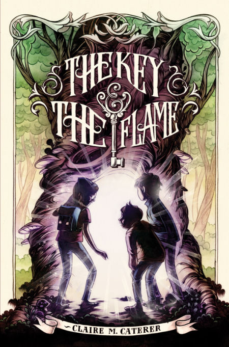 The Key & the Flame (The Key & the Flame, #1)