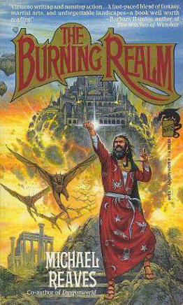 The Burning Realm (Shattered World, #2)