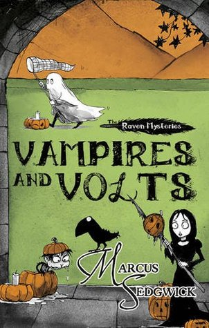 Vampires and Volts (The Raven Mysteries, #4)