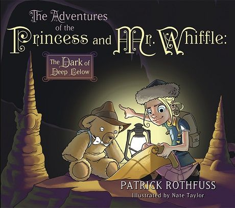 The Dark of Deep Below (The Adventures of the Princess and Mr. Whiffle, #2)