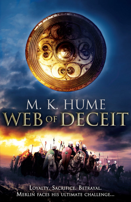 Web of Deceit (The Merlin Prophecy, #3)