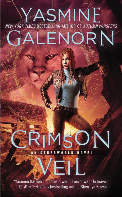 Crimson Veil (Sisters of the Moon / The Otherworld Series, #15)