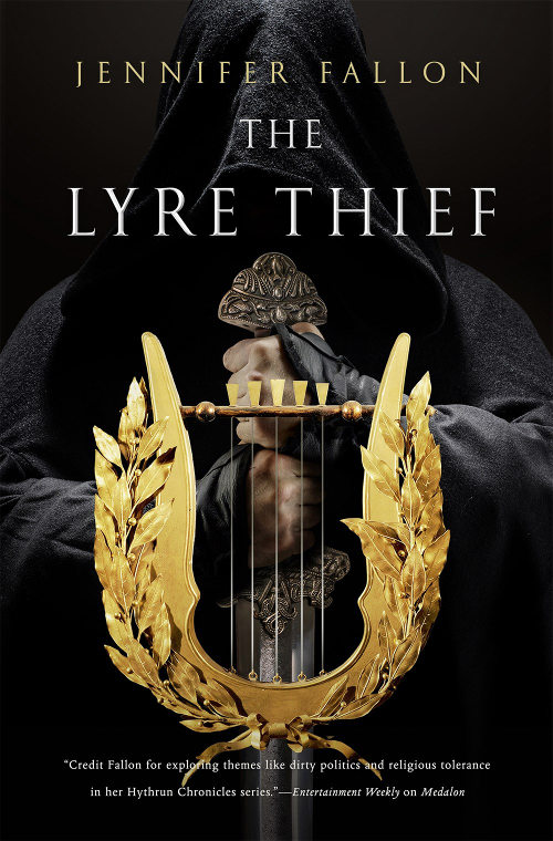The Lyre Thief (The War of the Gods Trilogy, #1)