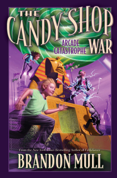 Arcade Catastrophe (The Candy Shop War, #2)