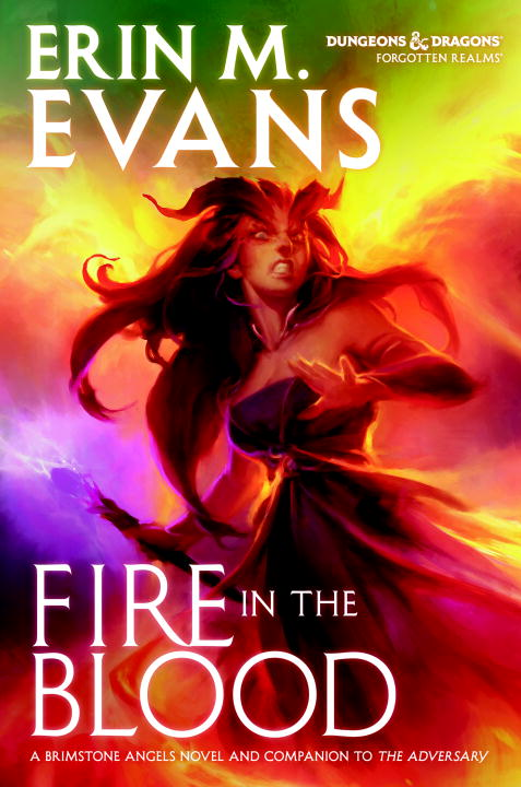 Fire in the Blood (Forgotten Realms: Brimstone Angels, #3)