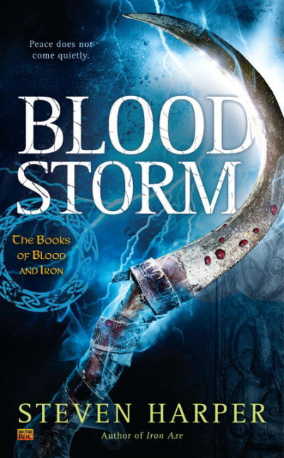 Blood Storm (The Books of Blood and Iron, #2)