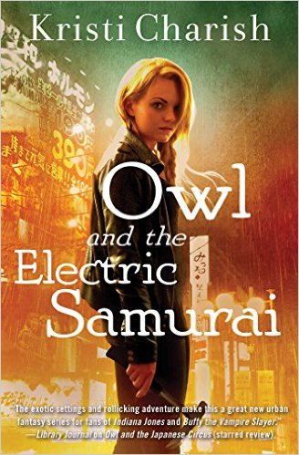 Owl and the Electric Samurai (The Adventures of Owl, #3)