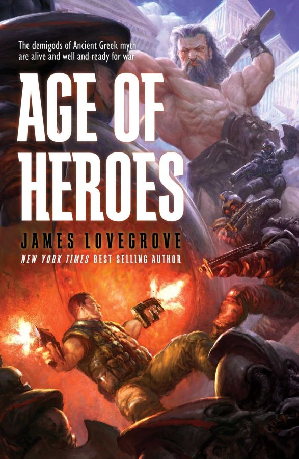 Age of Heroes (Pantheon Series, #7)