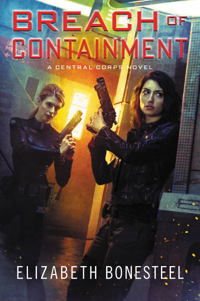 Breach of Containment (Central Corps, #3)
