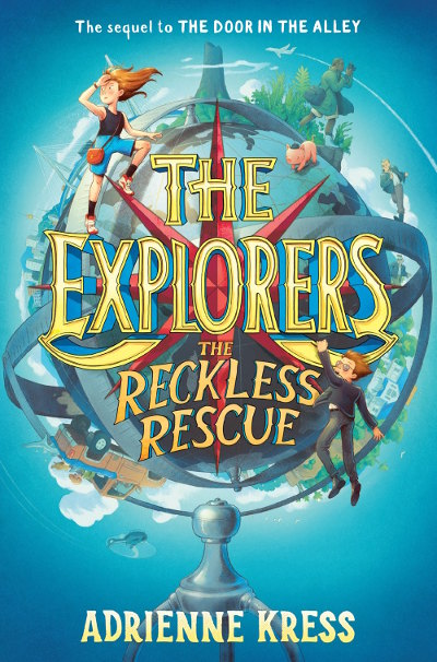 The Reckless Rescue (The Explorers, #2)