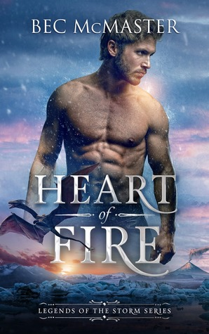 Heart of Fire (Legends of the Storm, #1)