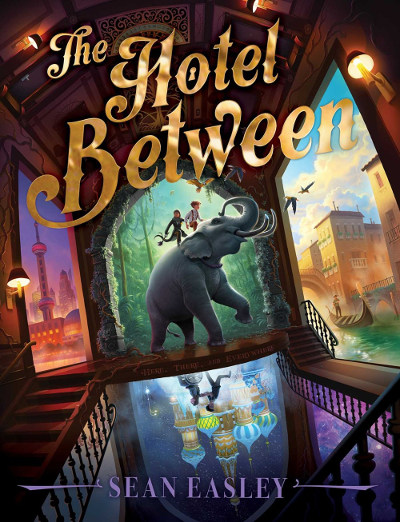 The Hotel Between (The Hotel Between, #1)