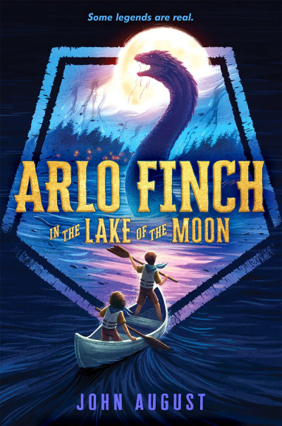 Arlo Finch in the Lake of the Moon (Arlo Finch, #2)
