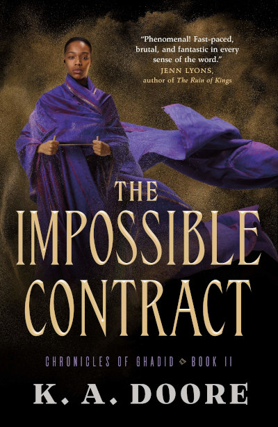 The Impossible Contract (Chronicles of Ghadid, #2)