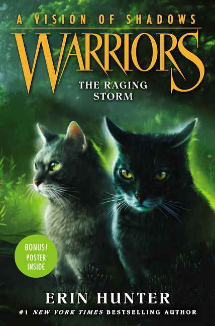 The Raging Storm  (Warriors: A Vision of Shadows, #6)