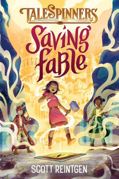 Saving Fable (Talespinners, #1)