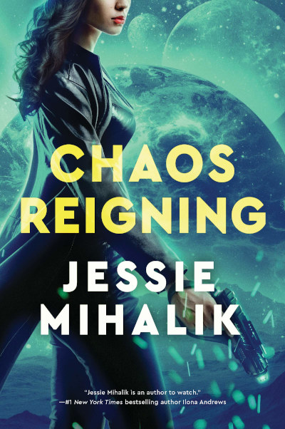 Chaos Reigning (The Consortium Rebellion, #3)