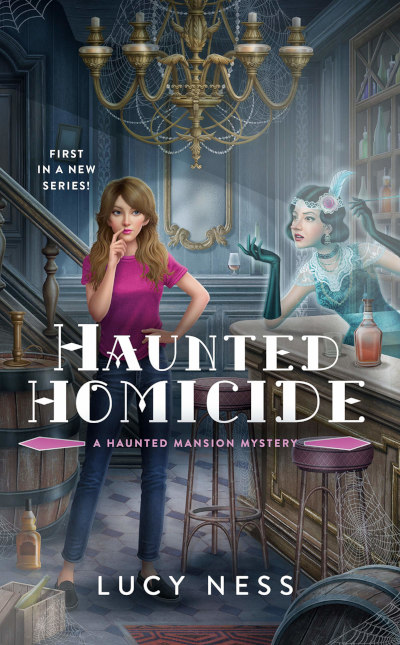 Haunted Homicide (Haunted Mansion Mysteries, #1)