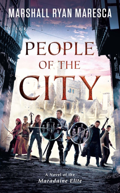 People of the City (Maradaine Elite, #3)