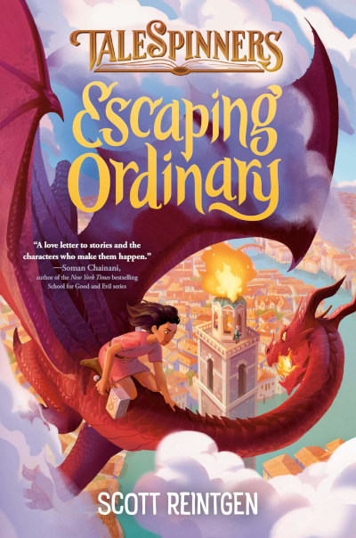 Escaping Ordinary (Talespinners, #2)
