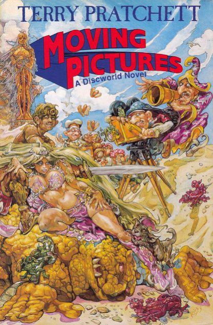Moving Pictures (Discworld, #10)