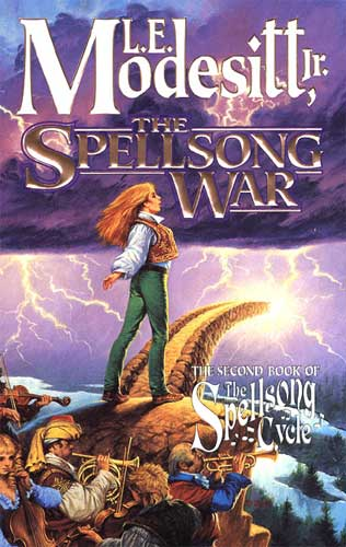 The Spellsong War (The Spellsong Cycle, #2)