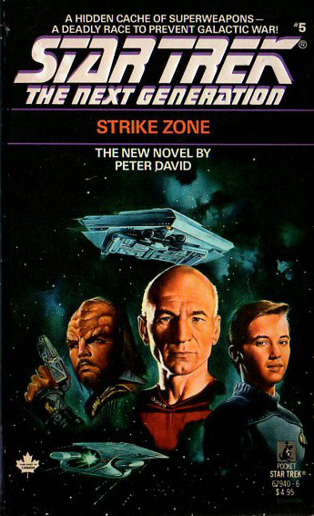 Strike Zone (Star Trek: The Next Generation (numbered novels), #5)