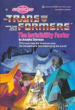 The Invisibility Factor (Find Your Fate Junior Transformers #9)