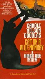 Cat on a Blue Monday (Midnight Louie Mysteries #3)