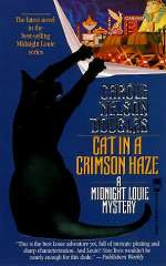Cat in a Crimson Haze (Midnight Louie Mysteries #4)