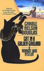 Cat in a Golden Garland (Midnight Louie Mysteries #8)