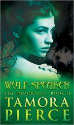 Wolf-Speaker (The Immortals Series, #2)
