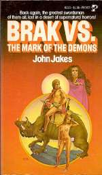 Brak the Barbarian: The Mark of the Demons (Brak the Barbarian, #3)